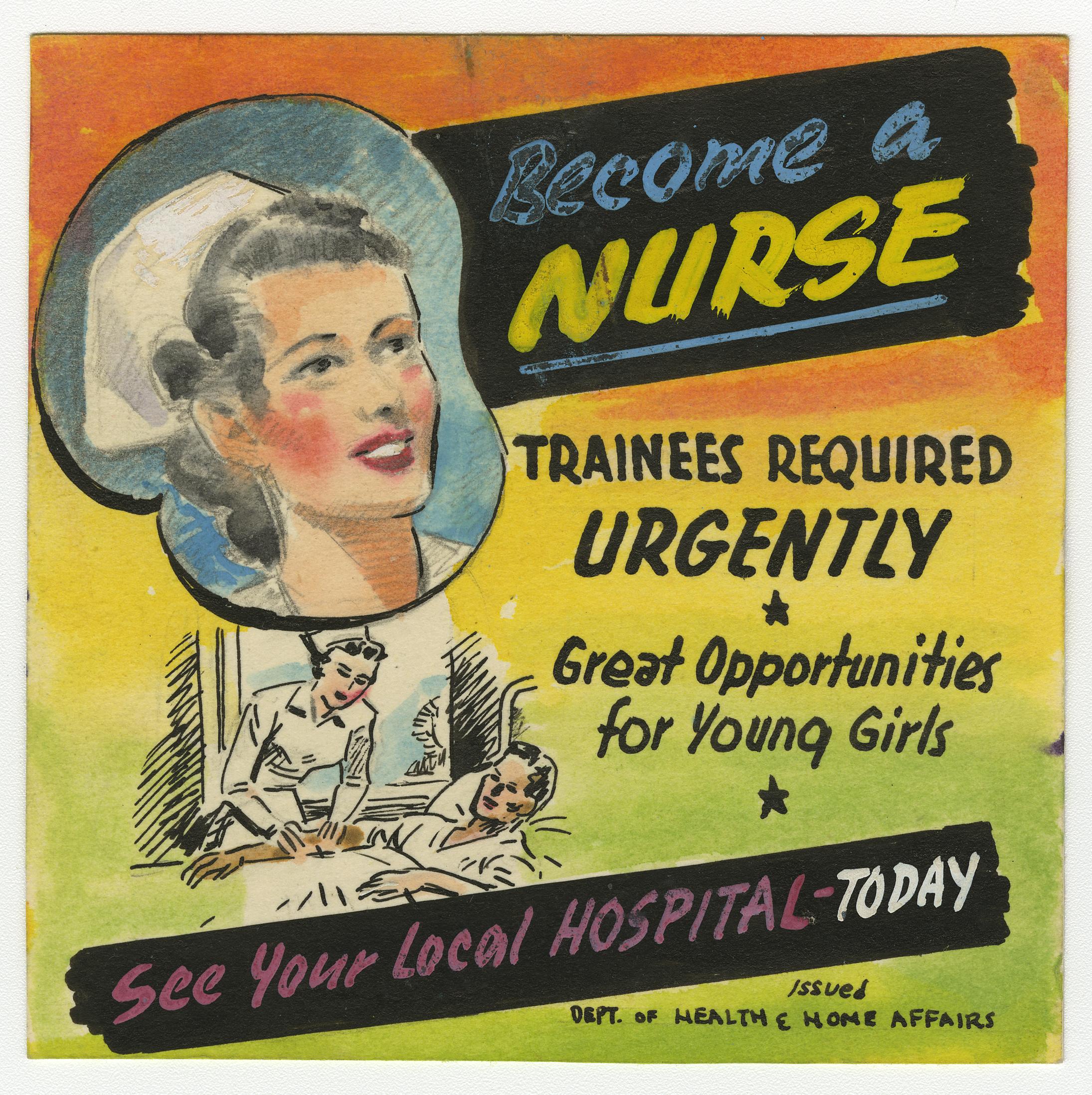 Recruitment of Nurses after Second World War – Stories from