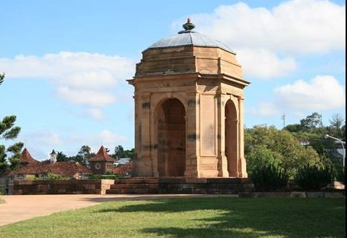 Windsor War Memorial park Picture courtesy of Our Brisbane