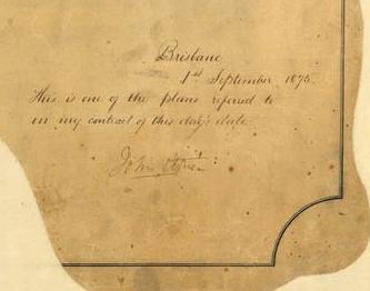 Signature of John Petrie