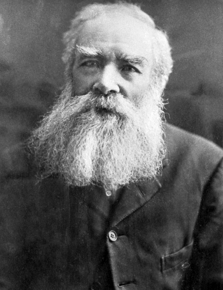 Portrait of James Nash circa 1890s